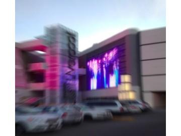 Яркий светодиодный экран 11.8 м²