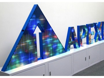 Нестандартные LED экраны