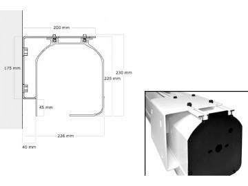 Моторизованные экраны шириной до 7 м