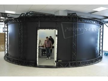 Панорамный экран 360 градусов для тренажера