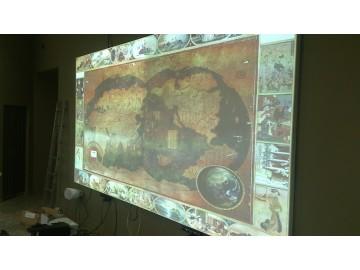 Интерактивный полиэкран для музея