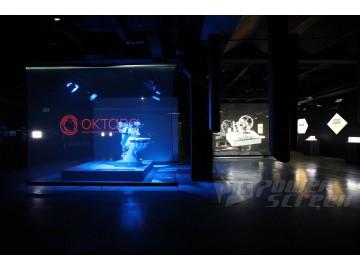 Голографические проекционные сетки в музее Станков