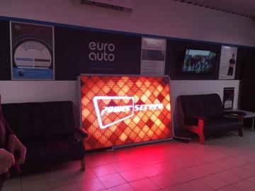 LED экран Power screen для интерьера и витрин