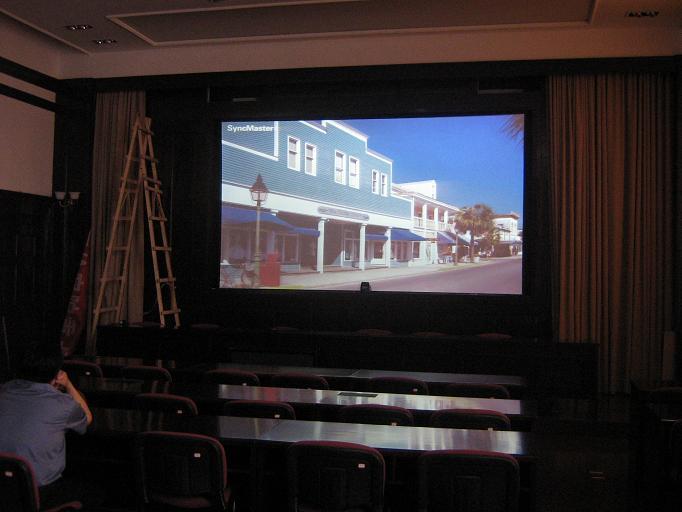 Как выбрать диагональ экрана для домашнего кинотеатра