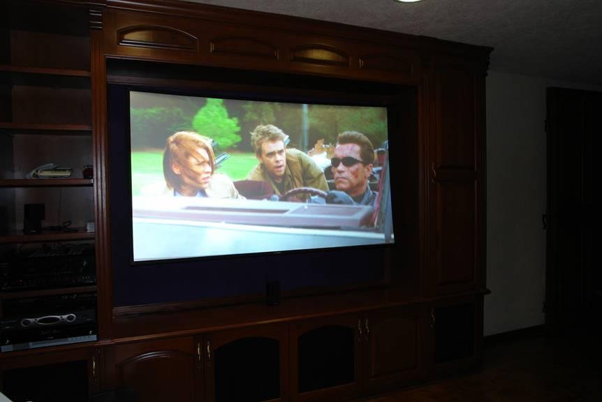 Как выбрать экран для домашнего кинотеатра. Часть 3